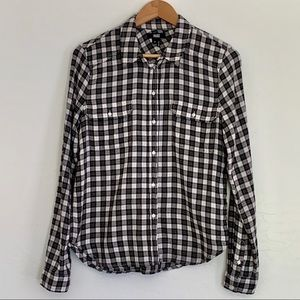 Paige Anthropologie Button up flannel longsleeved